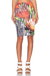 Clover Canyon Brush Stroke Bloom Skirt Black
