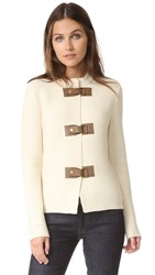 Tory Burch Ross Cardigan New Ivory