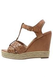 Xti High Heeled Sandals Camel
