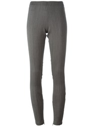 A.F.Vandevorst 'Piano' Trousers Grey