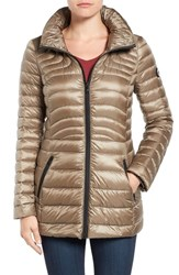 Bernardo Women's Down And Primaloft Fill Quilted Jacket