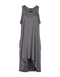 Blauer Dresses Short Dresses Women Grey