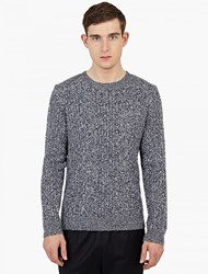 A.P.C. X Louis W. Blue Cashmere Blend Sweater