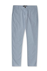 French Connection Sam Slim Cotton Chinos Blue