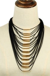 Eye Candy Los Angeles Multi Strand String Necklace