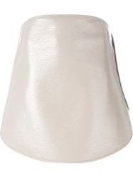 Courra Ges Buttoned Skirt Nude And Neutrals