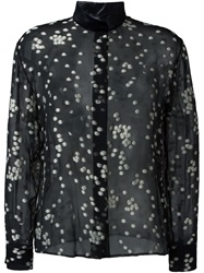 Emanuel Ungaro Dotted Shirt Black