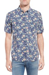 Men's Reyn Spooner 'Hau Oli' Trim Fit Wrinkle Free Print Sport Shirt