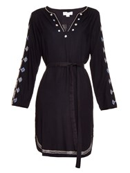 Velvet By Graham And Spencer Belton Tibetan Embroidered Dress