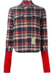 Dsquared2 Contrasted Panel Jacket
