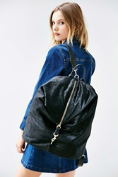 Intentionally Blank Pony Knapsack Black