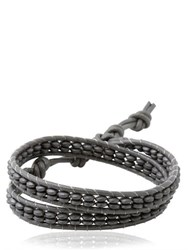 Colana Double Wrap Leather Bracelet