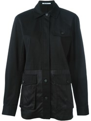 T By Alexander Wang Military Jacket Black