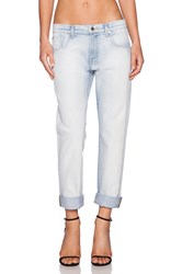 7 For All Mankind Relaxed Skinny Bleached Out