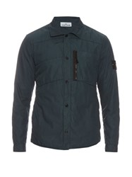 Stone Island Parachute Quilted Overshirt
