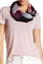 14Th And Union Woven Block Ombre Scarf Pink