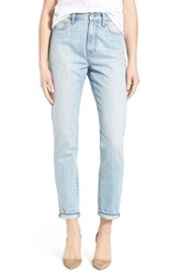 Women's Madewell 'Perfect Summer' High Rise Ankle Jeans Fitzgerald Wash