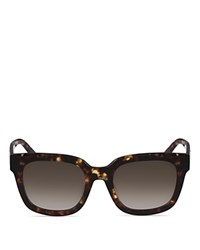 Mcm Square Sunglasses 54Mm Tortoise Gradient Lens