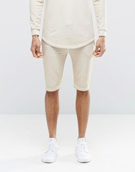 Sik Silk Siksilk Slouch Shorts In Over Dye Stone