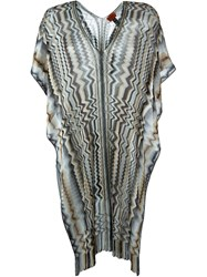 Missoni Semi Sheer Chevron Kaftan