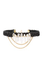Ettika Braided Choker Black