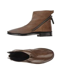 Bb Washed By Bruno Bordese Footwear Ankle Boots Men