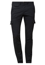 Jack And Jones Jack And Jones Jjprglenn Milton Cargo Trousers Dark Navy Dark Blue