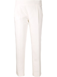 Giambattista Valli Cropped Trousers White