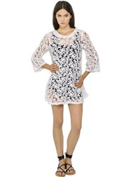 Etoile Isabel Marant Crocheted Cotton Guipure Lace Dress