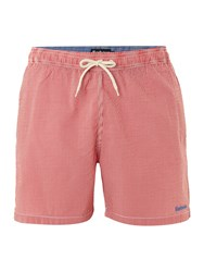 Barbour Men's Striped Swim Shorts Red