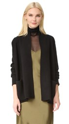 Tse Cashmere Shawl Collar Cardigan Black