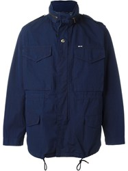 Maison Kitsune Light Jacket Blue