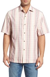 Tommy Bahama Men's Big And Tall Ombre Garcia Silk Blend Camp Shirt