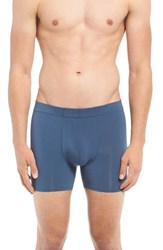 Naked Men's 'Luxury' Micromodal Boxer Briefs Dark Denim