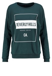 Evenandodd Sweatshirt Dark Green