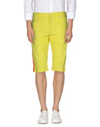 Dries Van Noten Trousers Bermuda Shorts Men Yellow