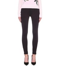 Ted Baker Sateen Skinny Mid Rise Jeans Navy