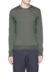 Faconnable Merino Wool Sweater Green