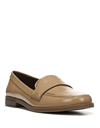 Franco Sarto Valera Faux Patent Leather Loafers Beige