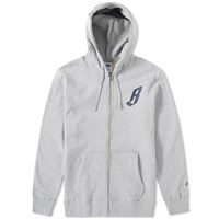 Billionaire Boys Club Billionaire Zip Hoody Grey