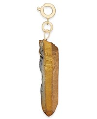 Inc International Concepts Gold Tone Pyrite Stone Charm Only At Macy's