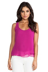 Eight Sixty Tank Fuchsia