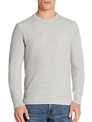 Michael Kors Tuck Stitch Cashmere Sweater Heather Grey