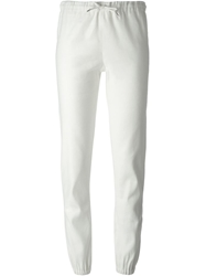 Ermanno Scervino Drawstring Gathered Ankle Trousers White