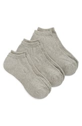 Men's Big And Tall Nordstrom Men's Shop No Show Athletic Socks Grey