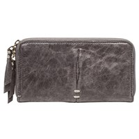 Rissetto Clingy Washed Lambskin Wallet Gray