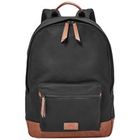 Fossil Estate Canvas Backpack Black