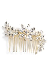 Camilla Christine Large Crystal Flower Comb