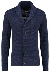 Jack And Jones Jprkasper Cardigan Dark Navy Melange Dark Blue