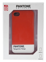 Case Scenario 'Pantone Universe' Iphone 4 4S Case Yellow And Orange